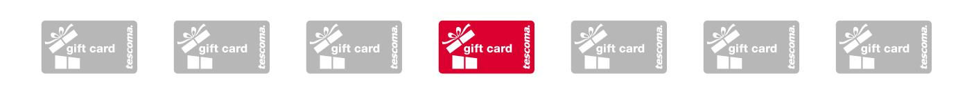 Tescoma gift card