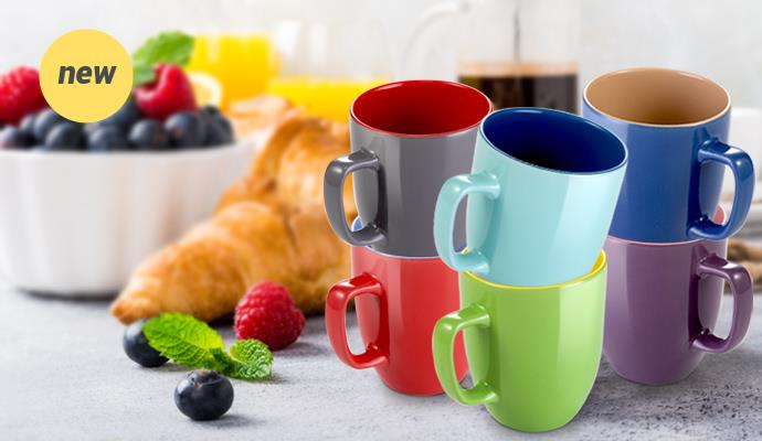 Colorful breakfast!