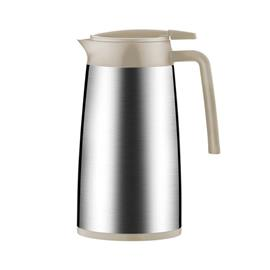 VACUUM FLASK WITH DISPENSER MOCCA