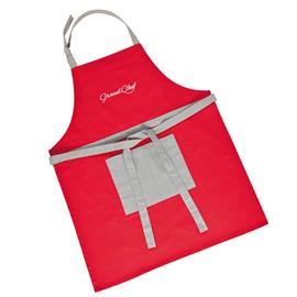 KITCHEN APRON, RED