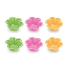SILICONE BAKING CUPS, LITTLE FLOWERS