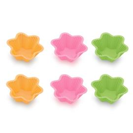 SILICONE BAKING CUPS, LITTLE STARS