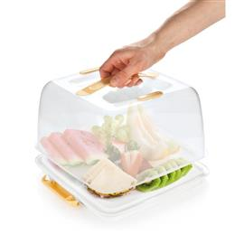 COOLING TRAY WITH LID, SQUARE