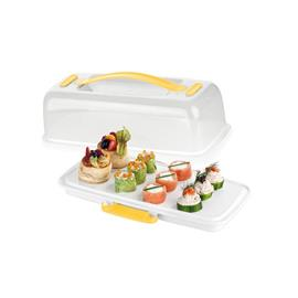 COOLING TRAY WITH LID, RECTANGULAR