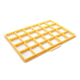 COOKIE CUTTING SHEET FOR BISCUIT POCKETS