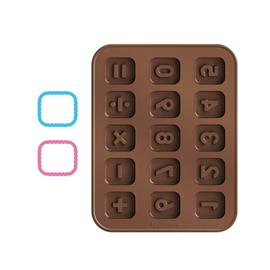 CHOCOLATE MOULD SET, COUNTING