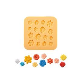 SILICONE MOULDS LITTLE FLOWERS