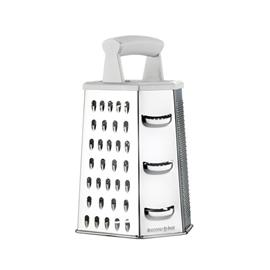 GRATER 6 SIDES, WITH PLASTIC HANDLE