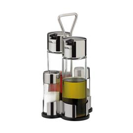 OIL, VINEGAR, SALT, PEPPER SET
