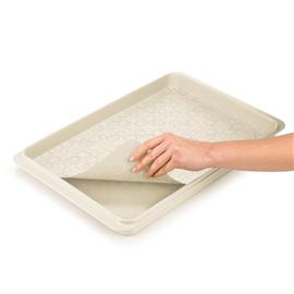 SERVING TRAY, WITH ANTI-SKID MAT