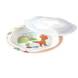 PLATE WITH LID