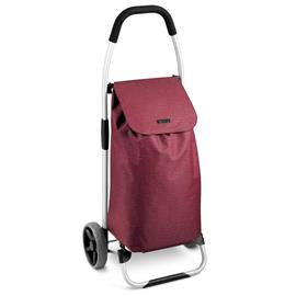 SHOPPING TROLLEY BAG, red