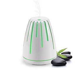 ULTRASONIC AROMA LAMP, LAVA, WHITE
