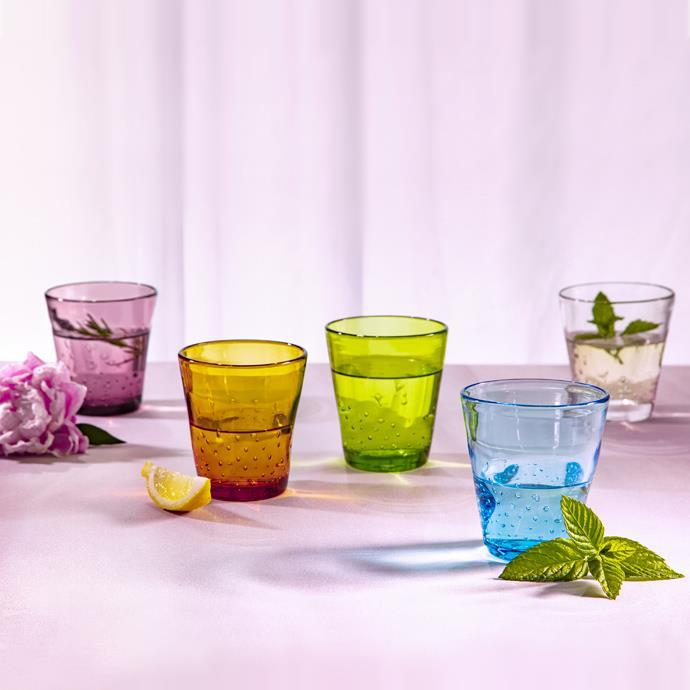 GLASS, PURPLE