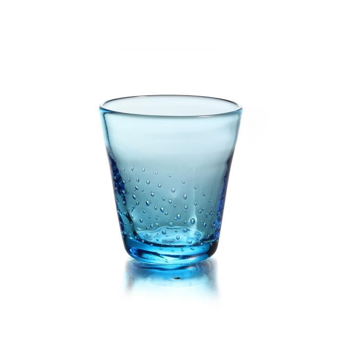 GLASS, BLUE