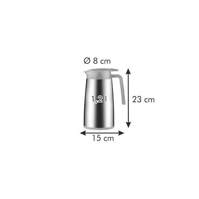VACUUM FLASK WITH DISPENSER