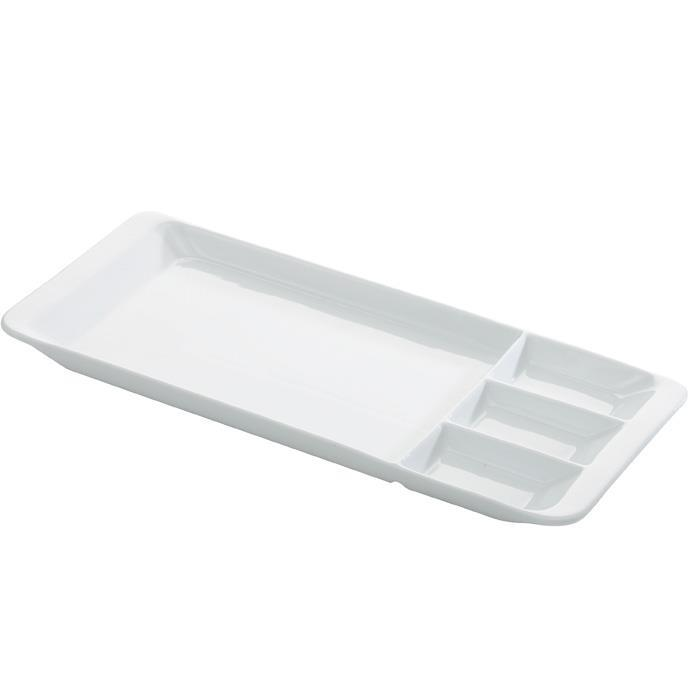SERVING TRAY 4 SECTIONS