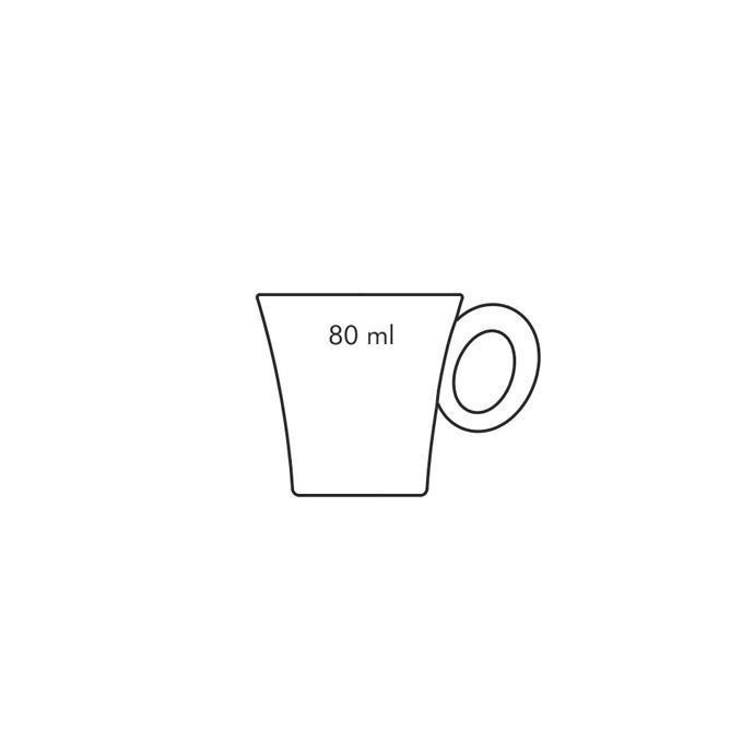 TAZZA CAFFE' CON PIATTINO