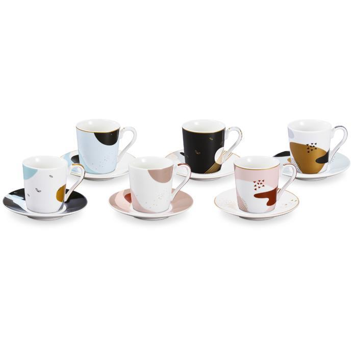 ESPRESSO CUP WITH SAUCER, Moon