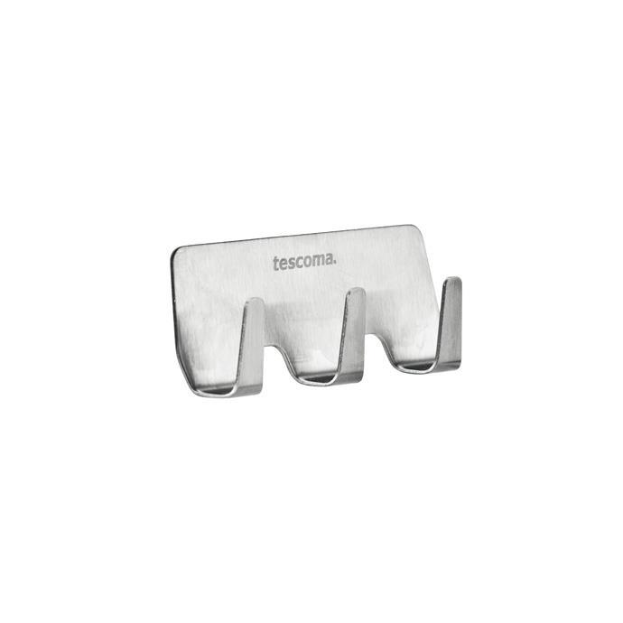 STAINLESS STEEL ADHESIVE HOOK, 3 CT.