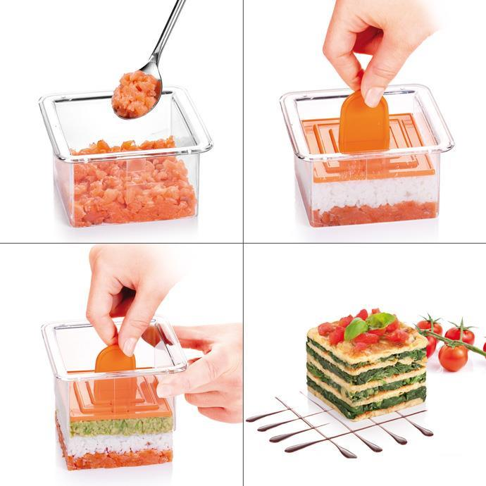 FOOD SHAPING MOULD, SQUARE
