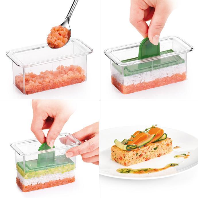FOOD SHAPING MOULD, RECTANGLE