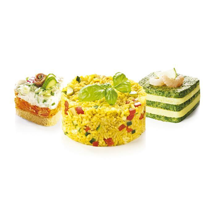 FOOD SHAPING MOULDS