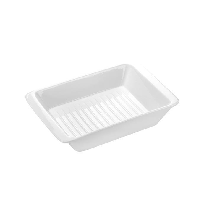 BAKING BOWL, WITH PROFILED BOTTOM