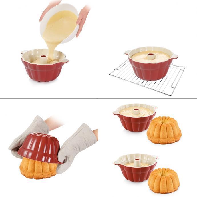 CERAMIC BUNDT CAKE PAN