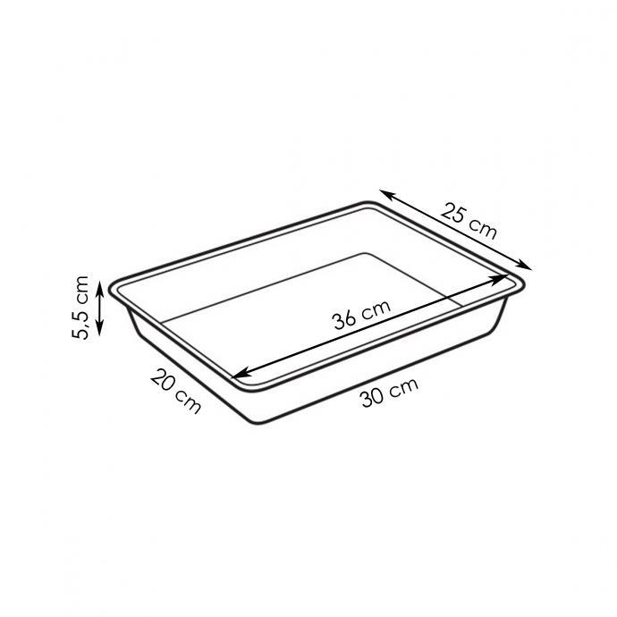 DEEP BAKING SHEET WITH LID
