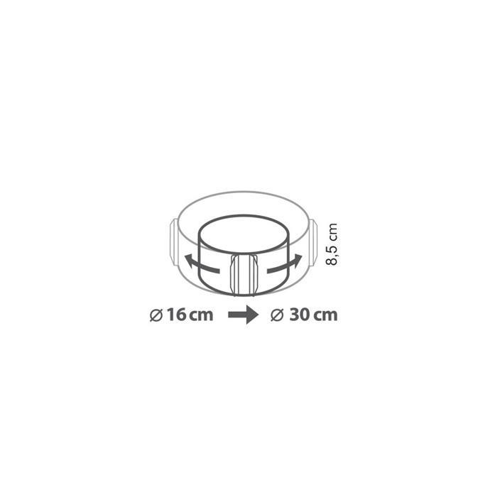 ROUND ADJUSTABLE BAKING FRAME
