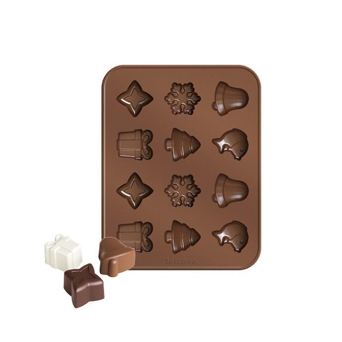CHOCOLATE MOULD SET CHRISTMAS THEMES