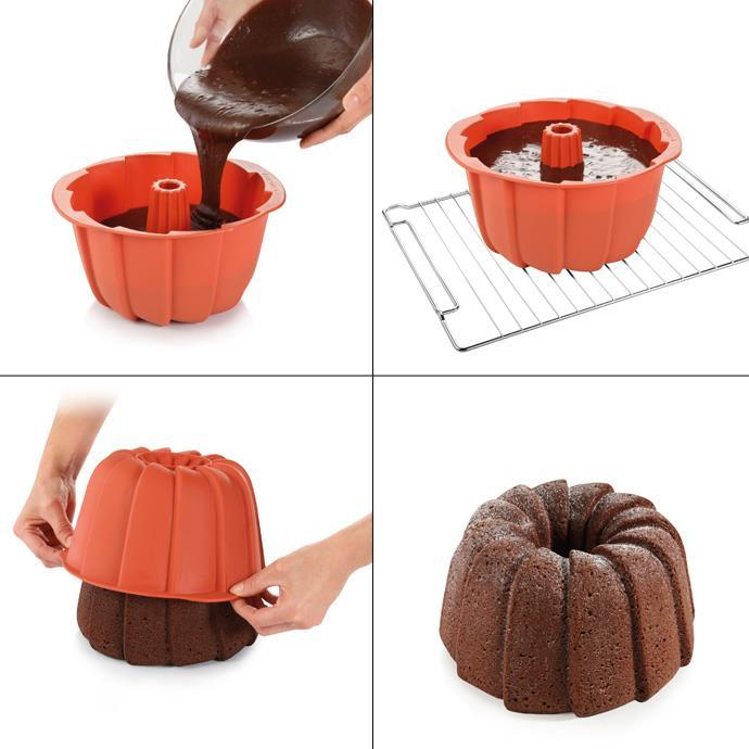 TALL BUNDT PAN, WEDGES