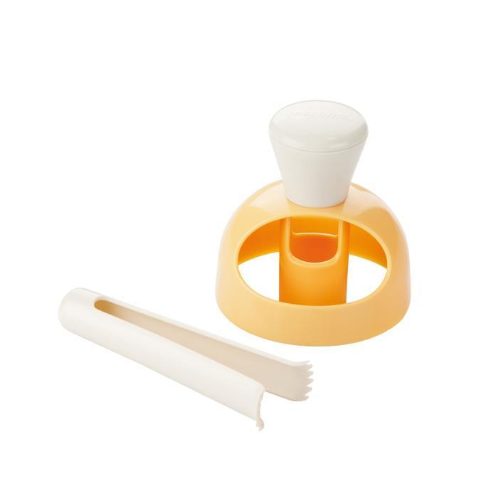 AMERICAN DOUGHNUT MAKER WITH DIPPING TONGS