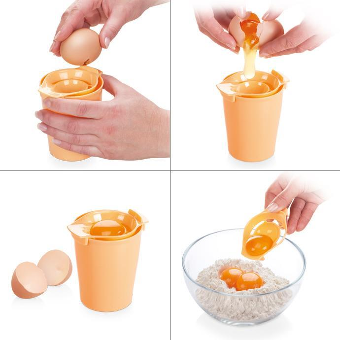 EGG WHITE SEPARATOR AND SHAKER