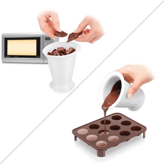 CHOCOLATE MELTRING DISH