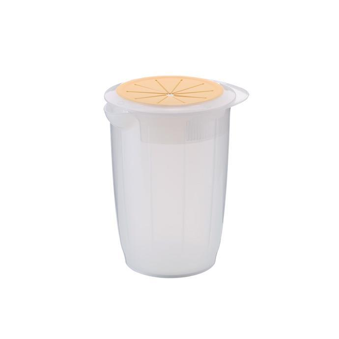 MIXING CONTAINER WITH PROTECTIVE CAP