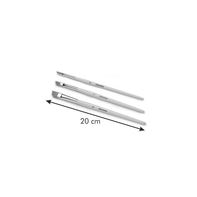 CAKE DECORATING BRUSH, FLAT