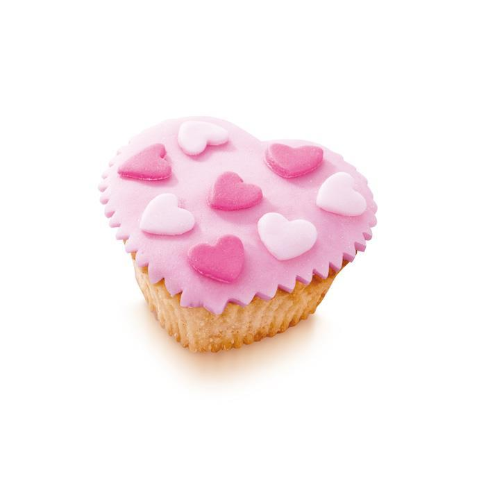 SILICONE BAKING CUPS, LITTLE HEARTS