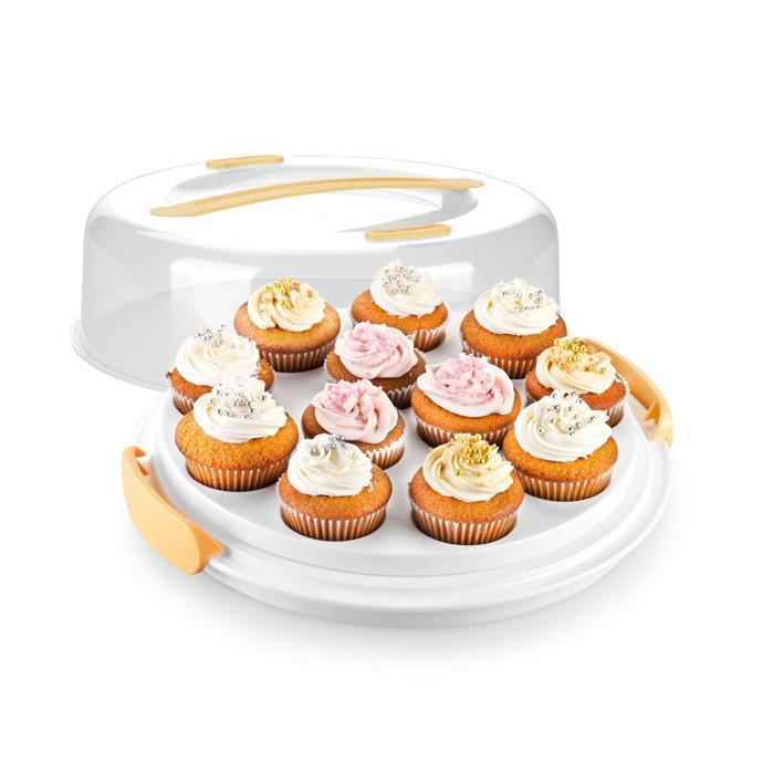 MUFFIN TRAY WITH LOW LID