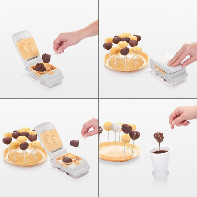 CAKE POPS MAKERS, 6 SHAPES
