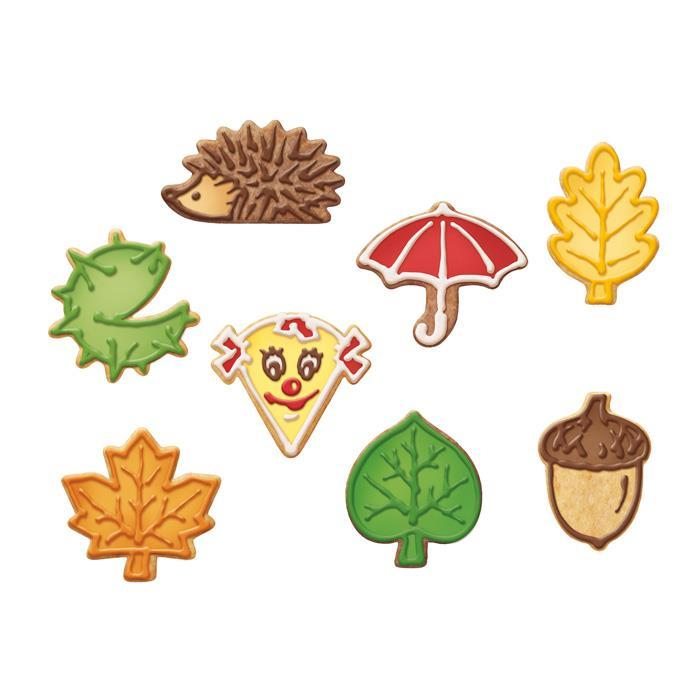 AUTUMN COOKIE CUTTERS