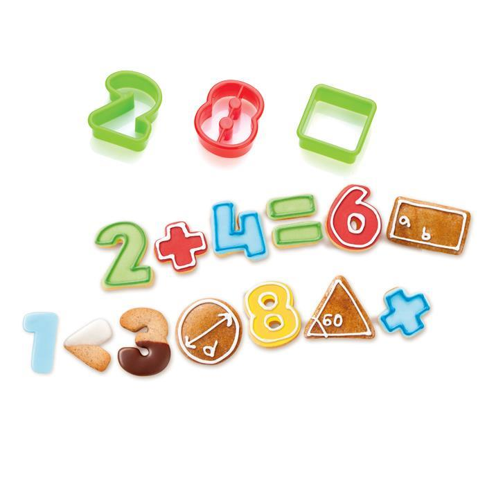 COOKIE CUTTERS NUMBERS