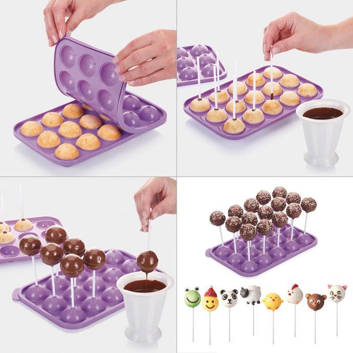 CAKE POP MOULDS