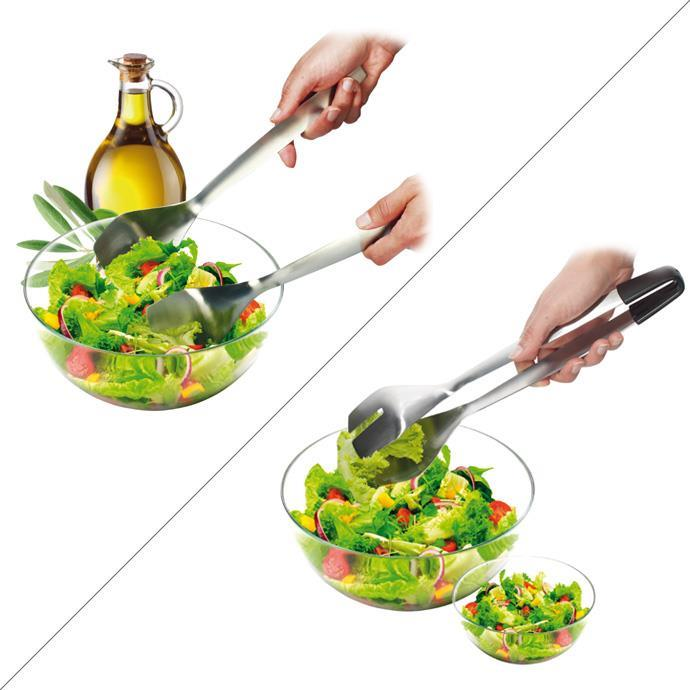 SALAD SERVER - TONGS