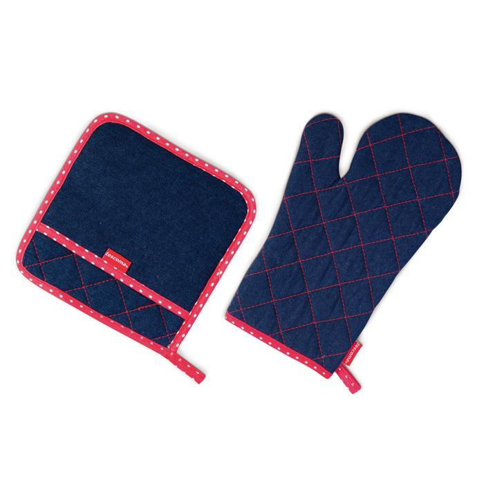 OVEN MITT AND HEATPROOF MAT FOR HER