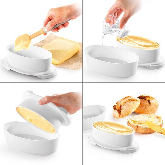 TABLE BUTTER DISH