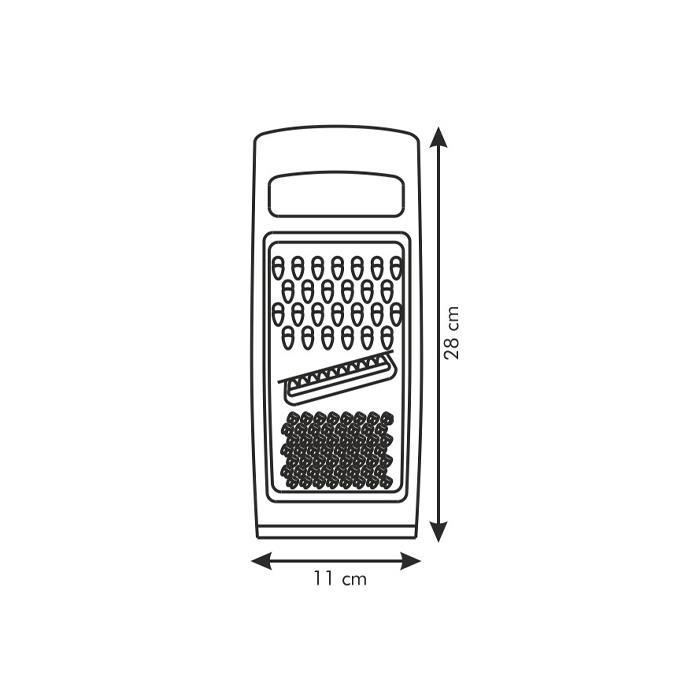FLAT GRATER, COMBINED