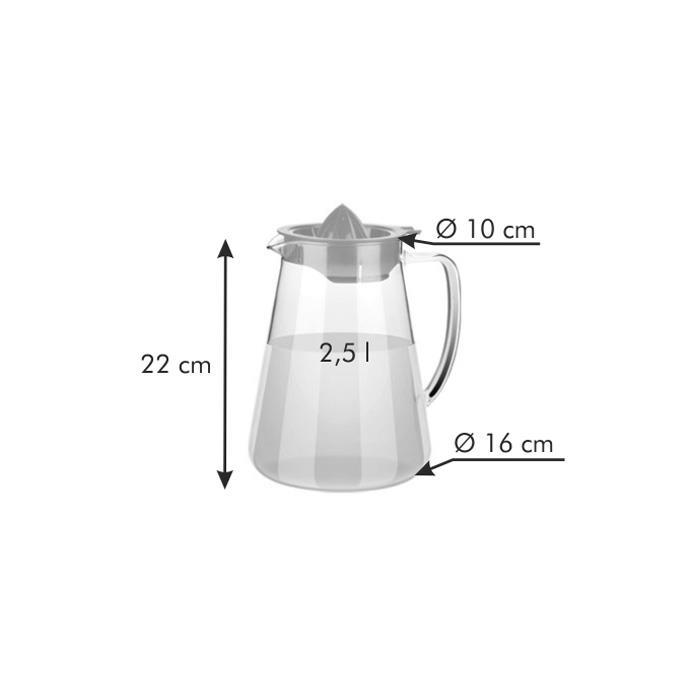 PITCHER WITH JUICER