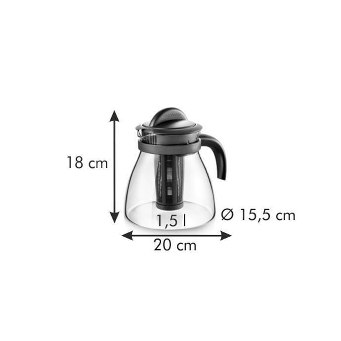 TEA MAKER WITH INFUSER
